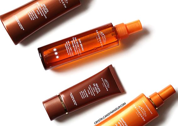 Institut Esthederm Sunscreen Adaptasun Tanning Sun Bronz Dry Oil Sheen Self Tanner Review