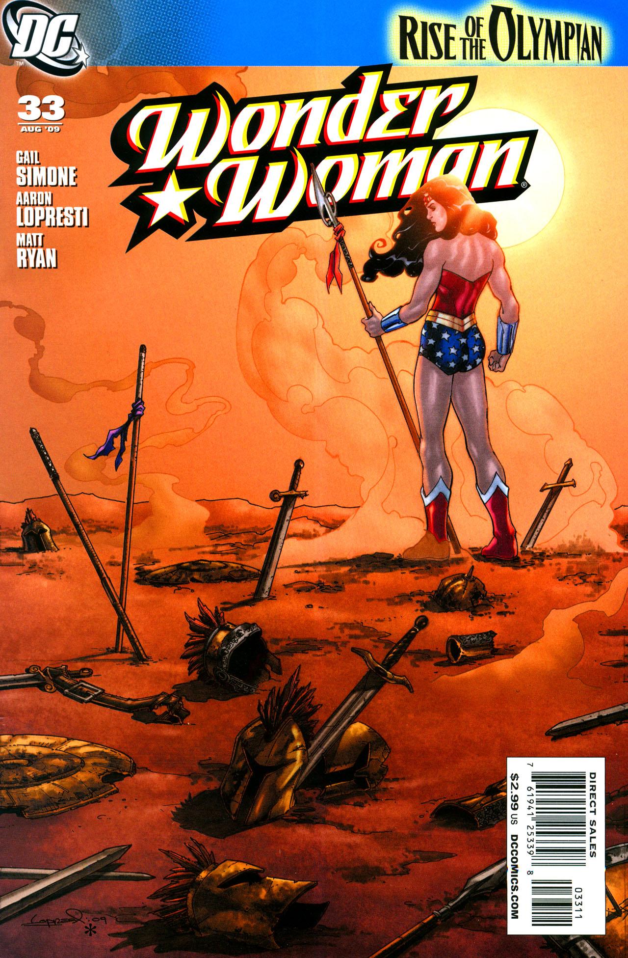 Read online Wonder Woman (2006) comic -  Issue #33 - 1