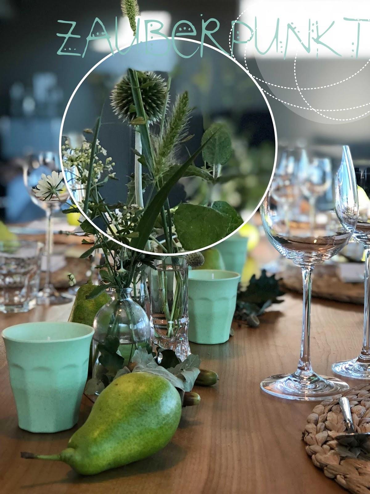 Zauberpunkt Herbstliche Tischdekoration