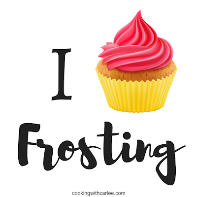 I cupcake frosting graphic
