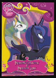 My Little Pony Princess Celestia & Princess Luna Series 2 Trading Card