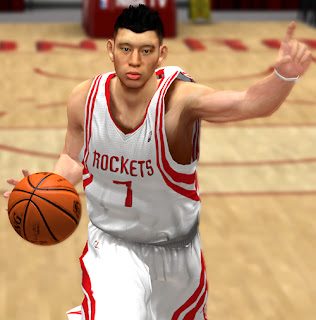 NBA 2K13 Jeremy Lin Cyberface NBA2K Patch