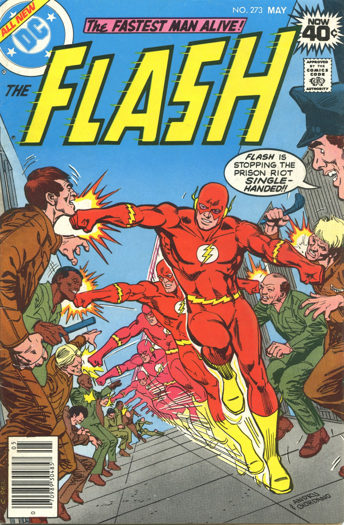 The Flash (1959) issue 273 - Page 1