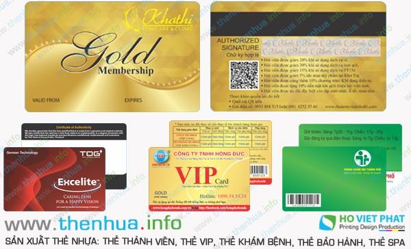 Làm thẻ nhựa lưu thông tin vào giải từ uy tín
