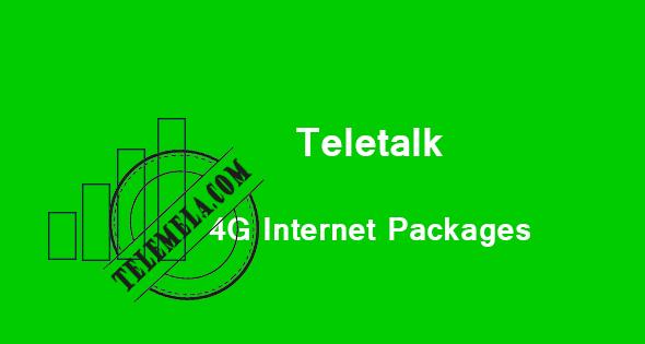 Teletalk 4G Internet Packages