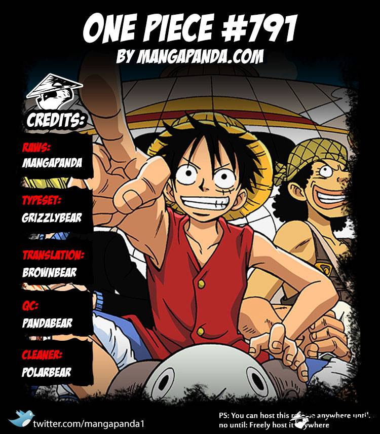 One Piece Ch 791: Rubble