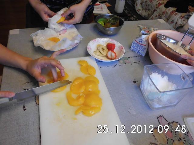 How to make Chrismast Cake Japan