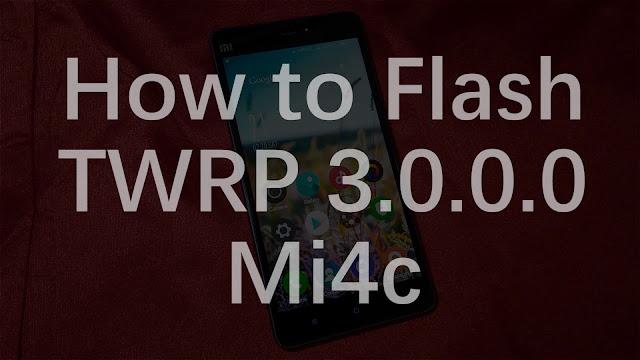 Pasang Custom TWRP Recovery Di Xiaomi Mi4c? Siapa Takut! Praktekkan Tutorial Ini dan Jadilah Opreker Android Sejati