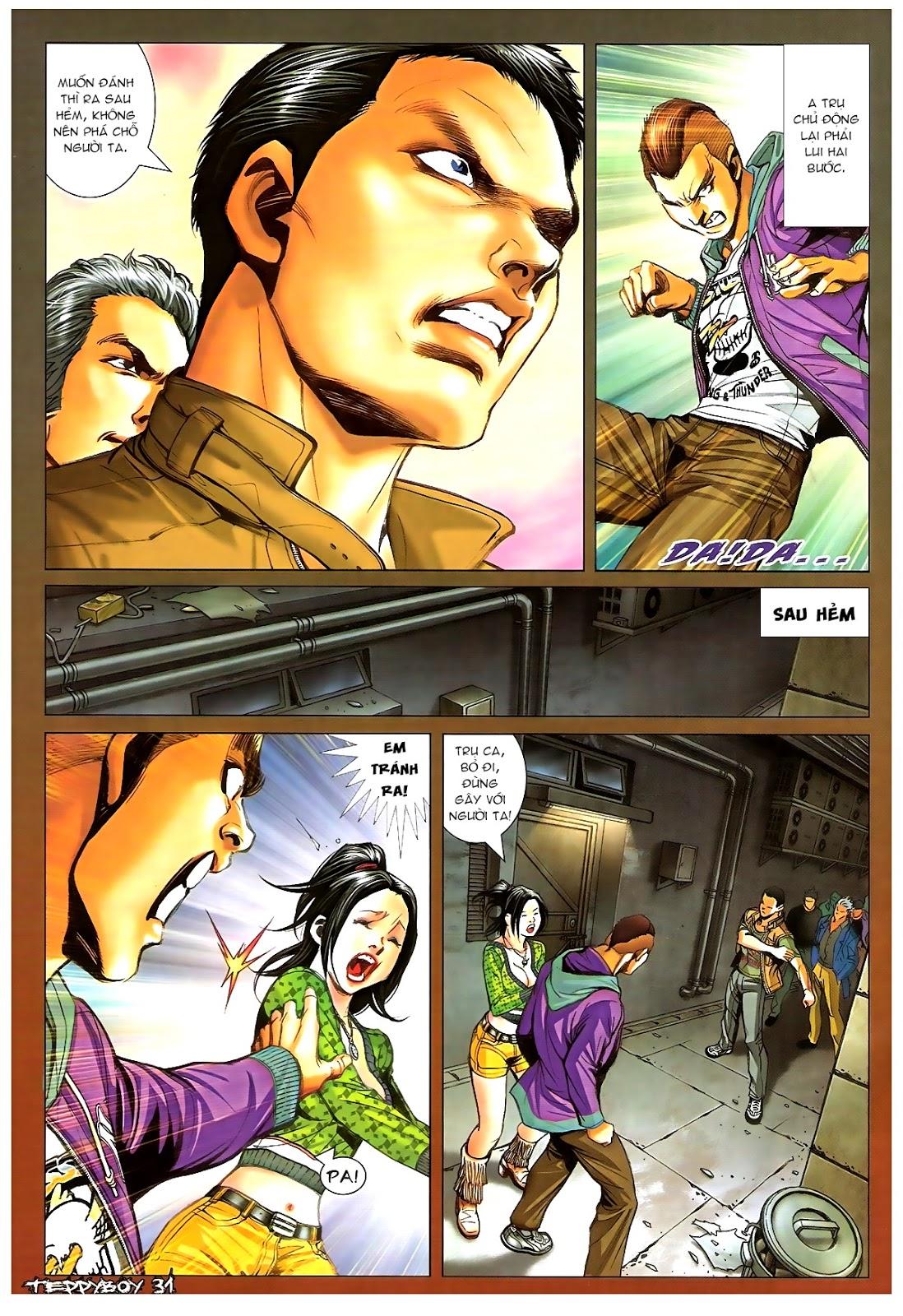 Người Trong Giang Hồ - Chapter 1379: Oan gia gặp nhau - Pic 27