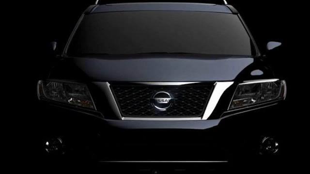 First images of the new Nissan Pathfinder