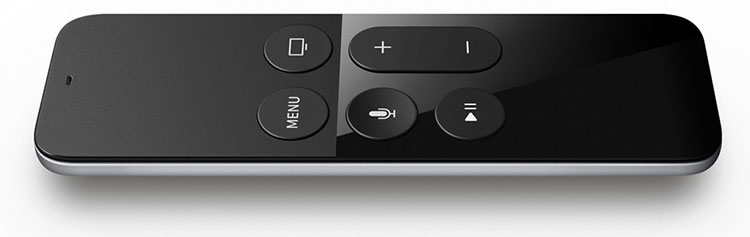 Apple TV Remote com Touch
