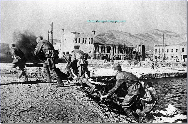 Soviet 18th Army  waterfront  Novorossiysk, 1943