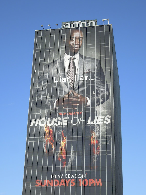 Giant House of Lies season 2 billboard