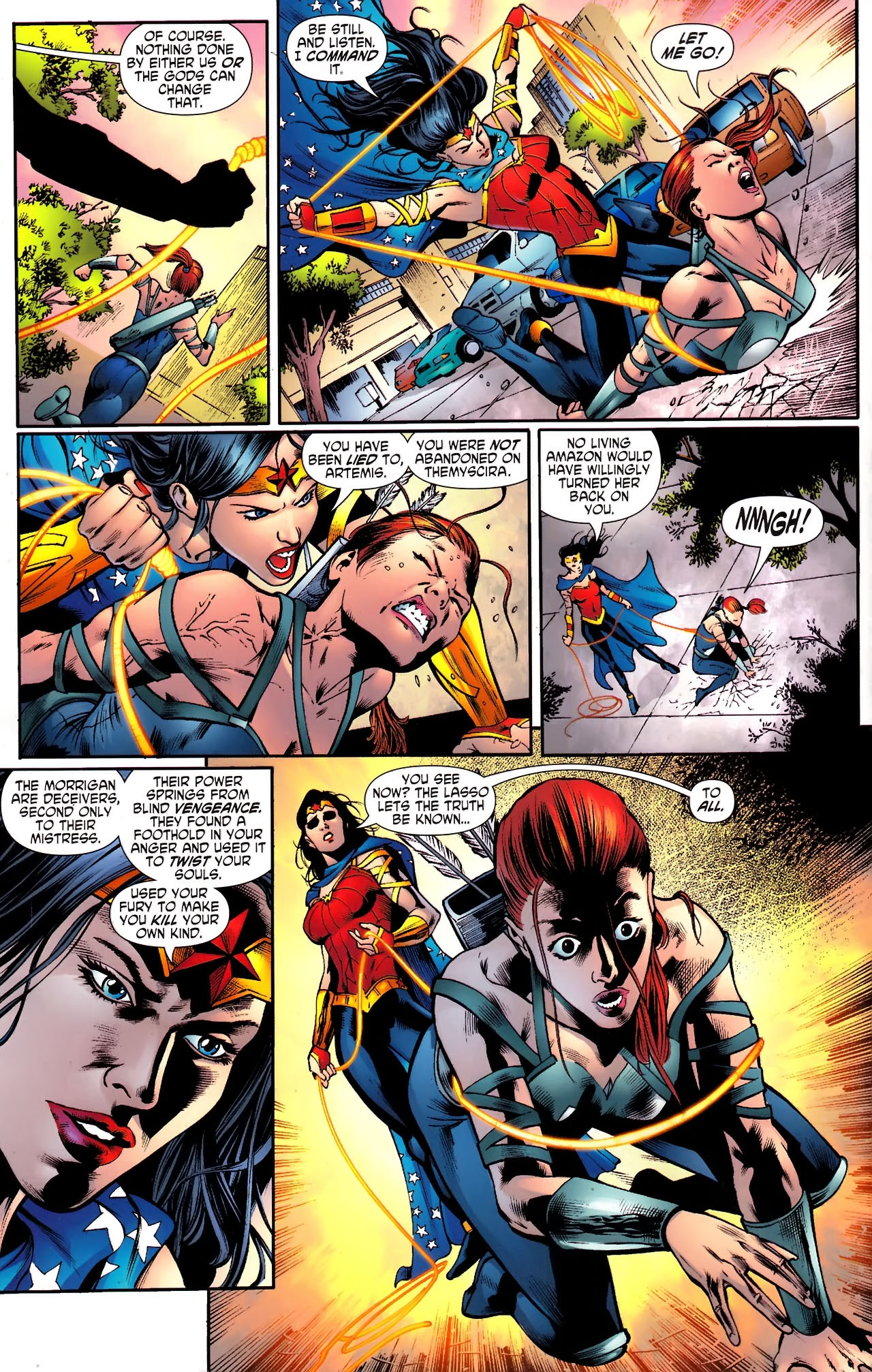 Read online Wonder Woman (2006) comic -  Issue #610 - 19