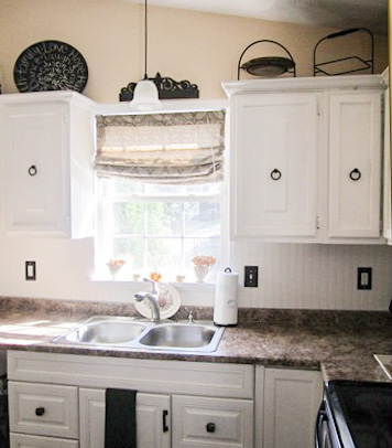 "Kitchen Updates: ""Bead board"" Backsplash in progress - Made ..."