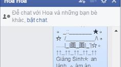 Tắt tính năng đã xem khi chat trên facebook