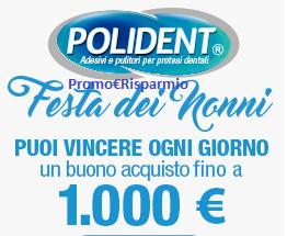 Logo Concorso ''Festa dei Nonni'': vinci buoni spesa o Ticket Compliments fino a 1.000 euro
