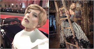 H Κοντσίτα εμφανίστηκε με ξανθό μαλλί και ασορτί μούσι και προκάλεσε με το νέο της λουκ