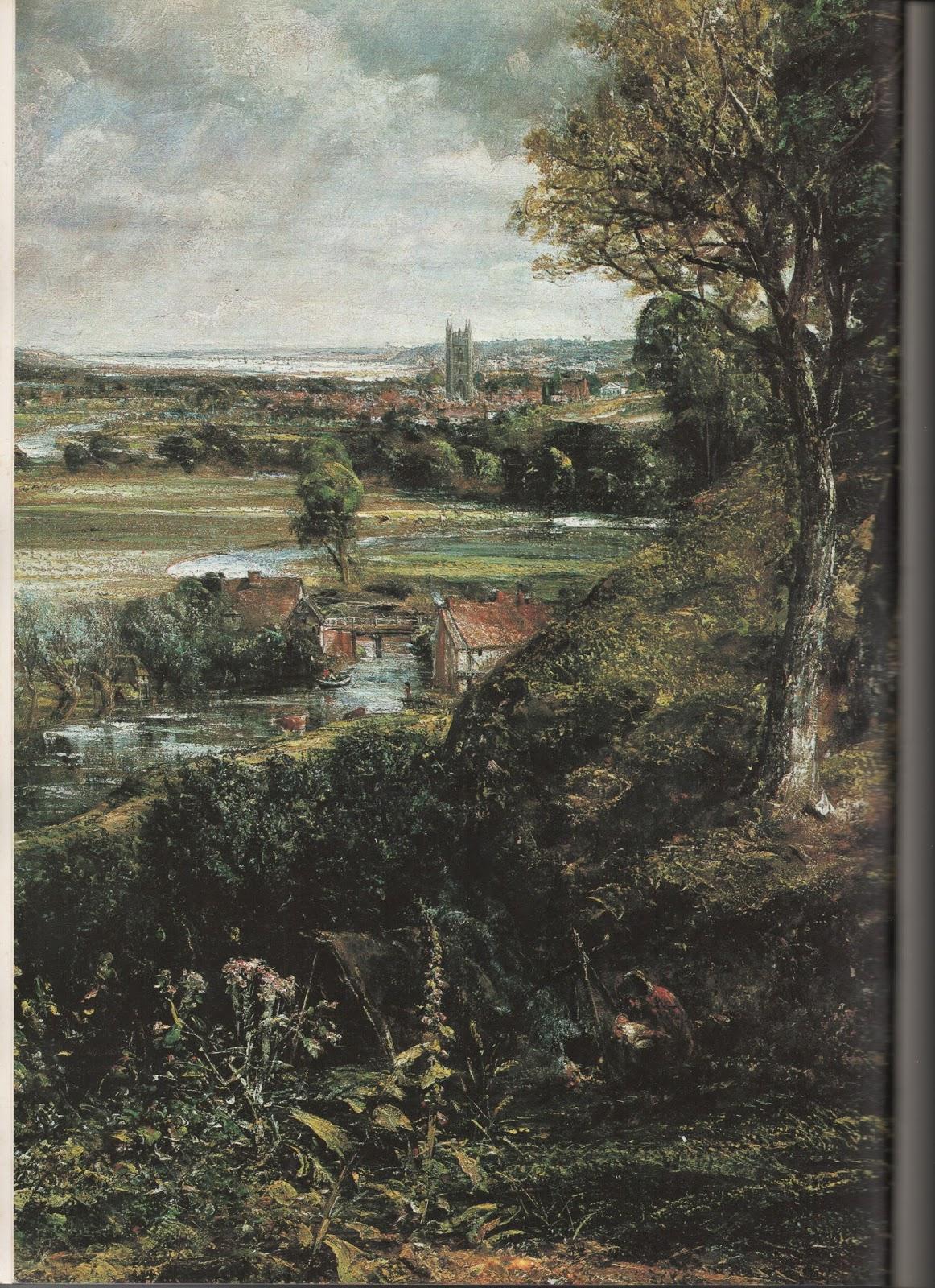 Schoonheid Van De Kunst John Constable Engels