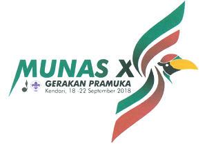 Logo Munas Pramuka 2018