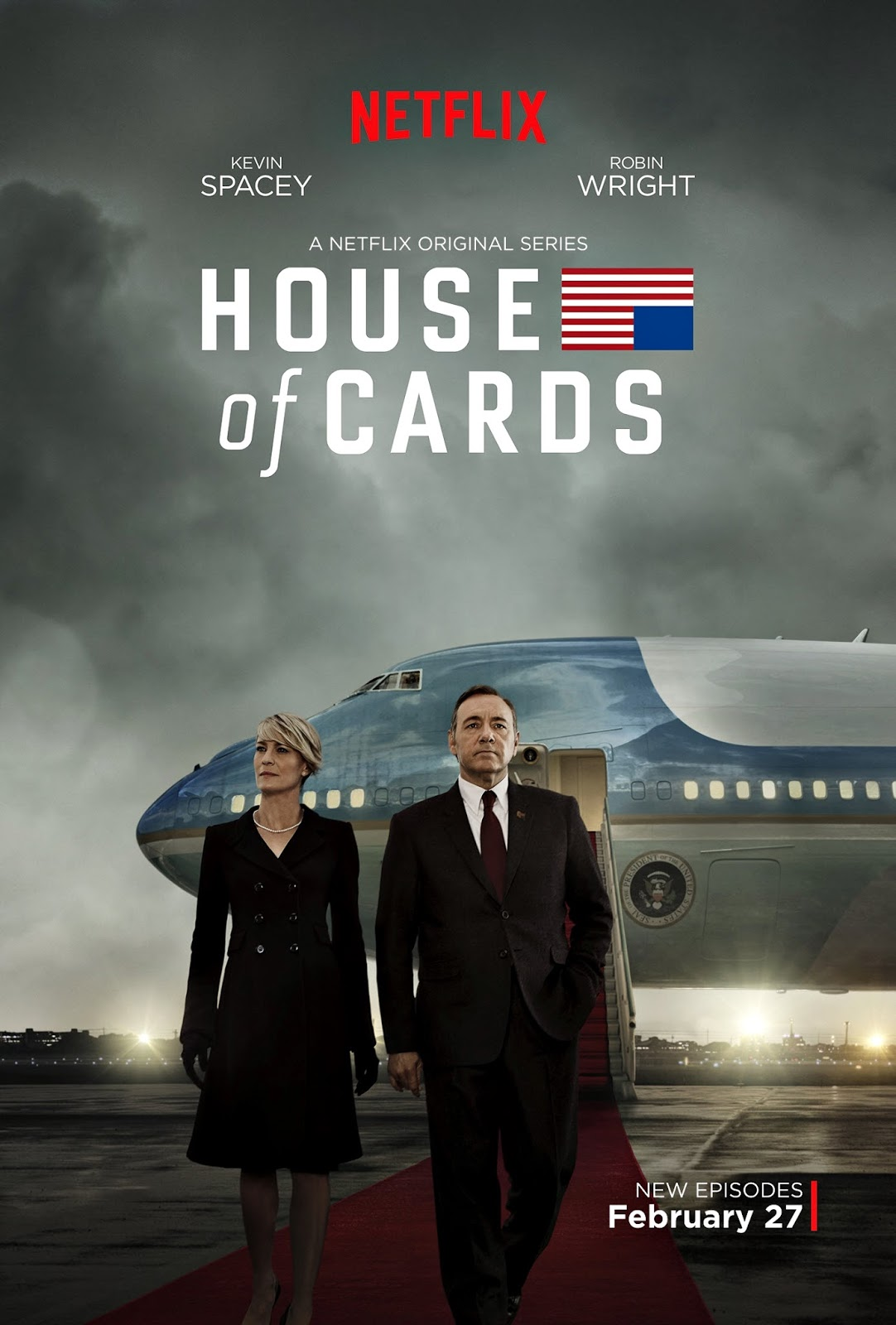 Póster de la tercera temporada de House of Cards