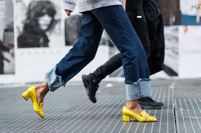 Zapatos de Tacón Bajo