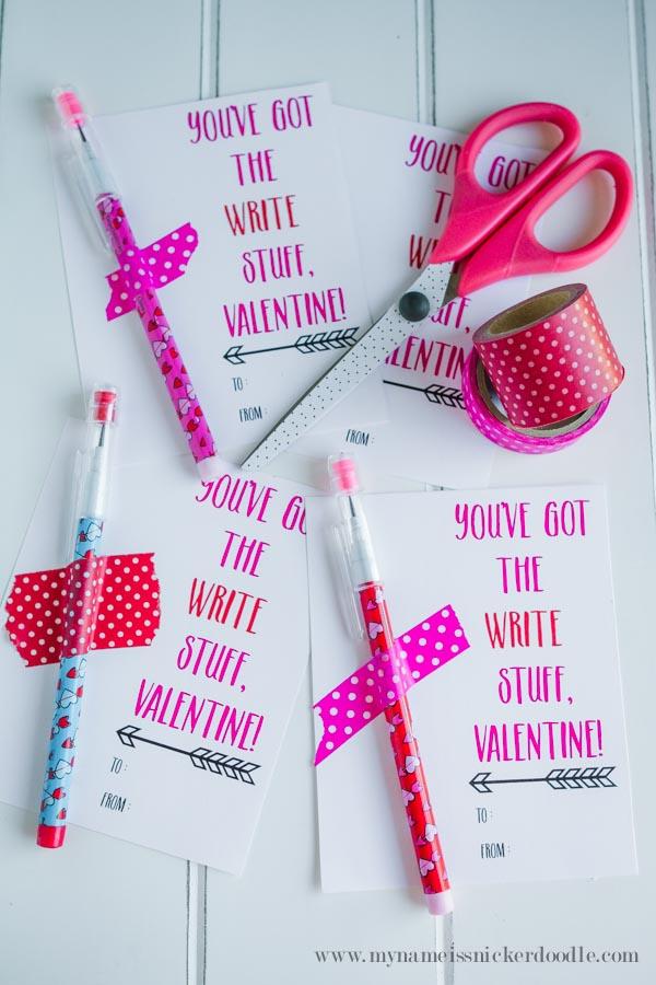 Valentines {Free Printable} - My Name Is Snickerdoodle