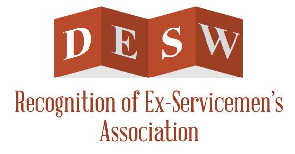 Recognition of Ex-Servicemen's Association - DESW Orders