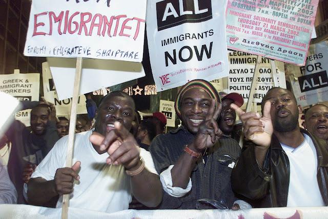 Οι εξεγέρσεις των λαθρομεταναστών και το Γουδή
