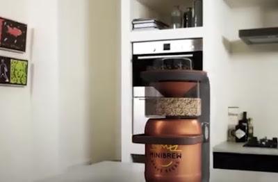 Minibrew: La máquina para hacer cerveza artesanal en casa