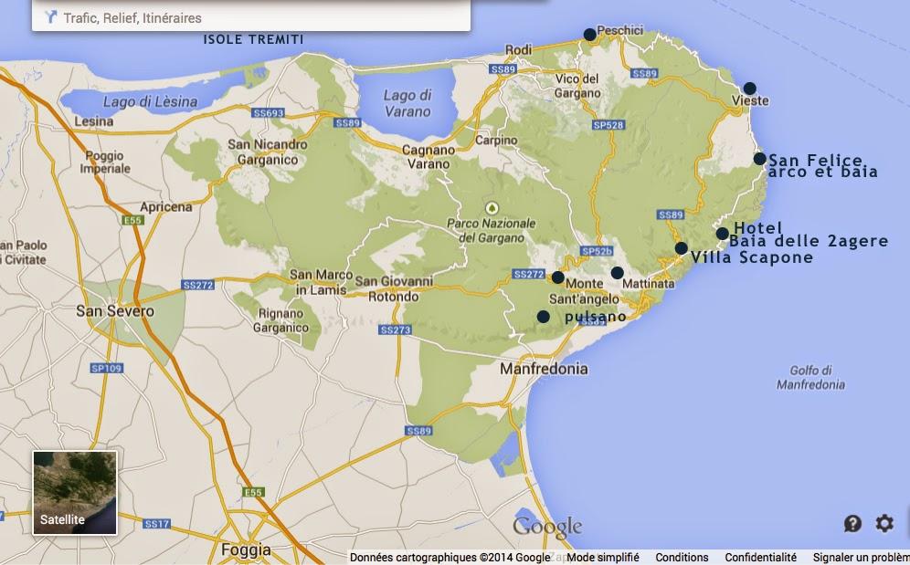 L'ITALIE DE MICHELLE GASTAUT BLOGUE: PUGLIA /LES POUILLES/ GARGANO