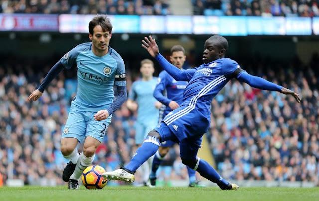 Manchester City Berjaya Atas Chelsea 1-0