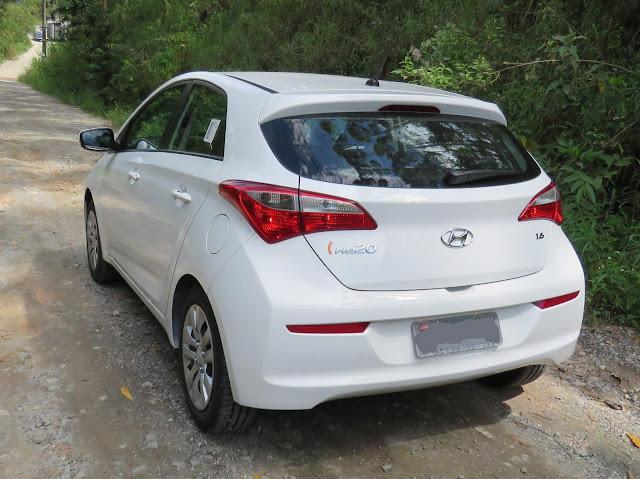 Hyundai HB20 1.6 2016 - Preço e consumo