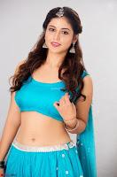 Marathi Actress Priyanka Jawalkar Sizzles In stunning Blue Half Saree ~ Exclusive 003.jpg