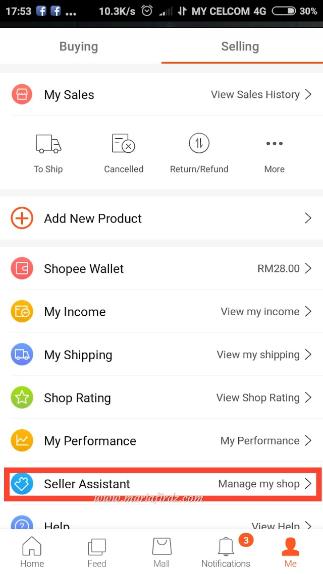 Panduan Shopee - Cara Tutup Kedai di Shopee Semasa Bercuti
