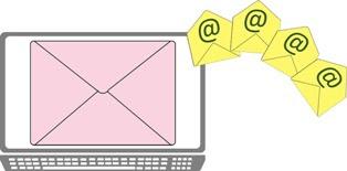 foto di email da inviare