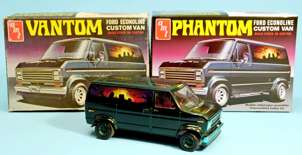 Scale Model News 1 25 Scale Amt Phantom Van Kit Or Is