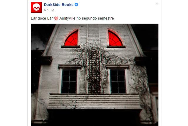 DarkSide Books anuncia publicação do livro Horror em Amityville