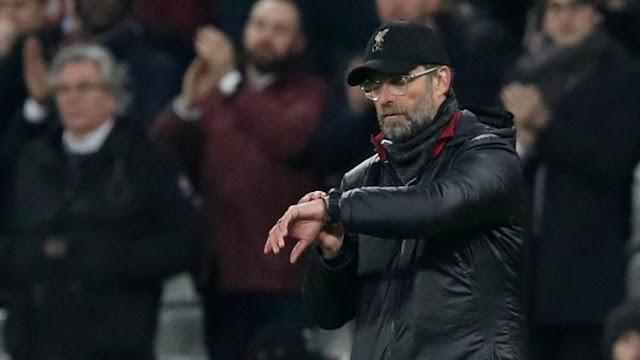 Jurgen Klopp blames mounting injury list for Liverpool's poor performance