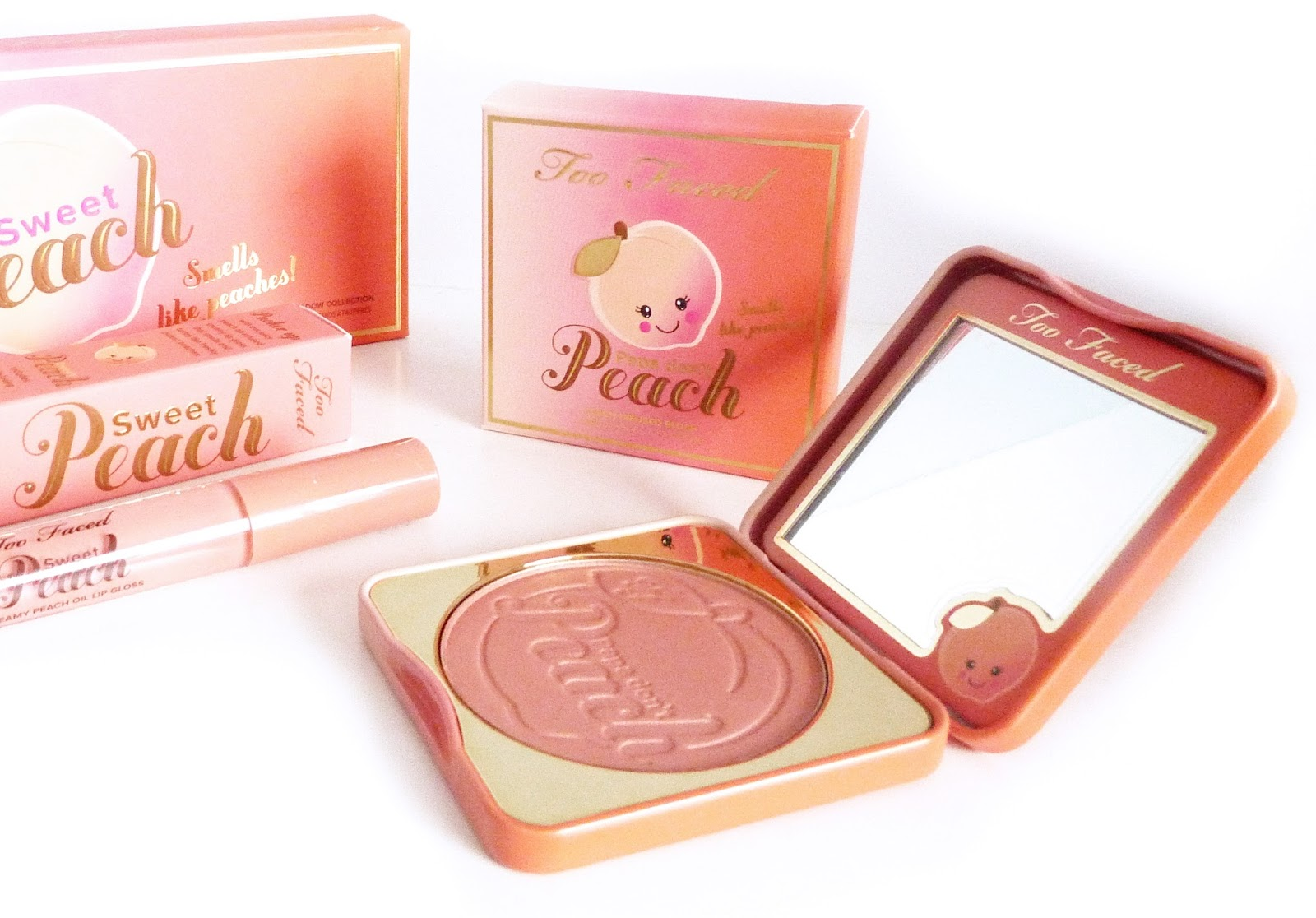 A £100 Too Faced Sweet Peach Haul Dainty Alice