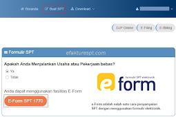 Yang Harus Diperhatikan Saat e-Form DJPOnline