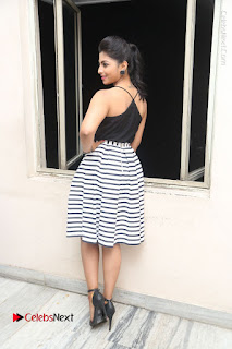 Telugu Actress Kruthika Jayakumar Stills in Short Dress at Intlo Deyyam Nakem Bhayam Success Meet  0251.JPG