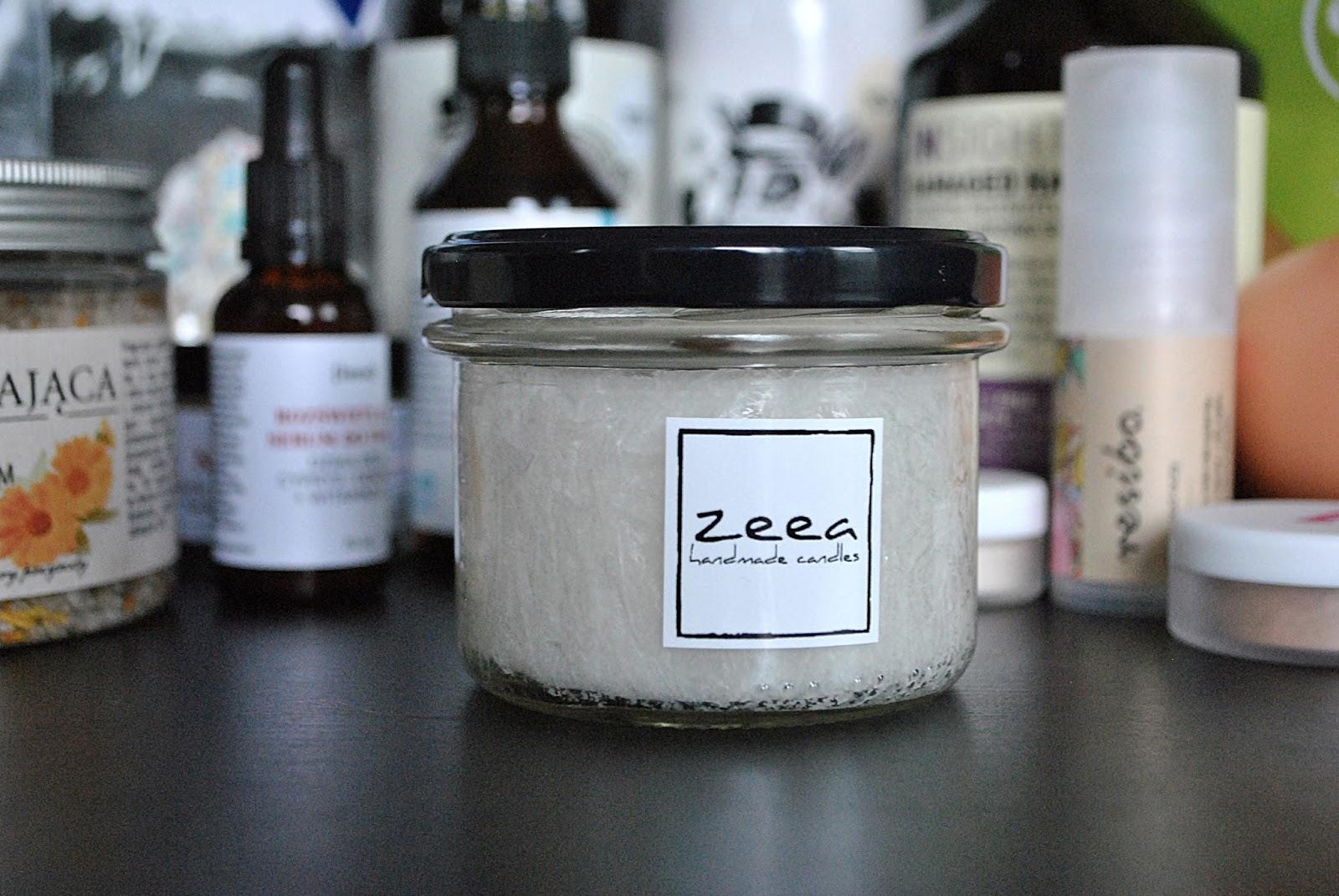 Naturalna świeca zapachowa Zeea