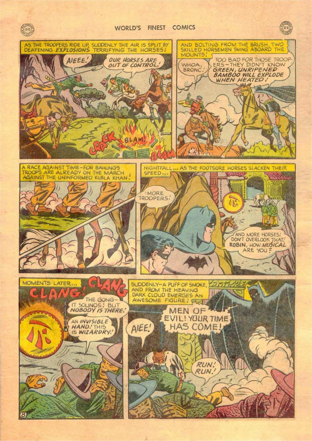 Read online World's Finest Comics comic -  Issue #42 - 69