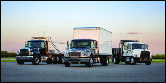 Freightliner Vocational Trucks Lineup