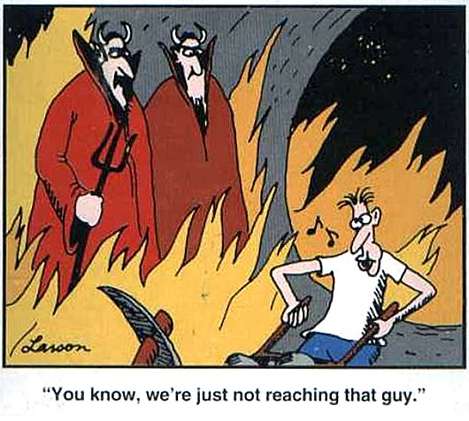 Far Side Comic Open Can Of Worms