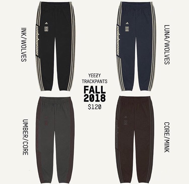 KANYE INTRODUCE A NEW COLLECTION OF YEEZY TRACKPANTS ~ Most