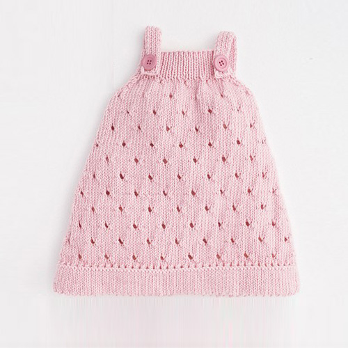 Cheval Blanc Baby Dress - Free Pattern