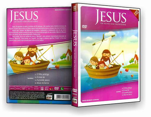 DVD – Jesus Um Reino Sem Fronteiras Vol.3 – ISO