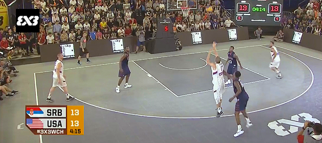 HIGHLIGHTS: Serbia vs. USA - Men's Final (VIDEO) 2016 FIBA 3x3 World Championships